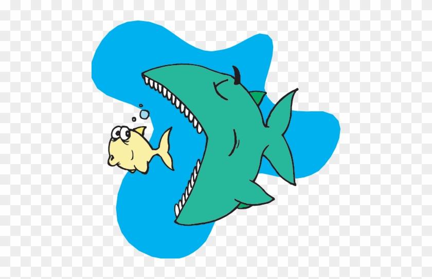 Big Fish - Ocean Food Chain Gif #203752