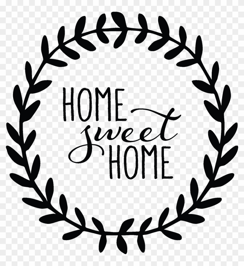 Women And Home - Home Sweet Home Decal #203801