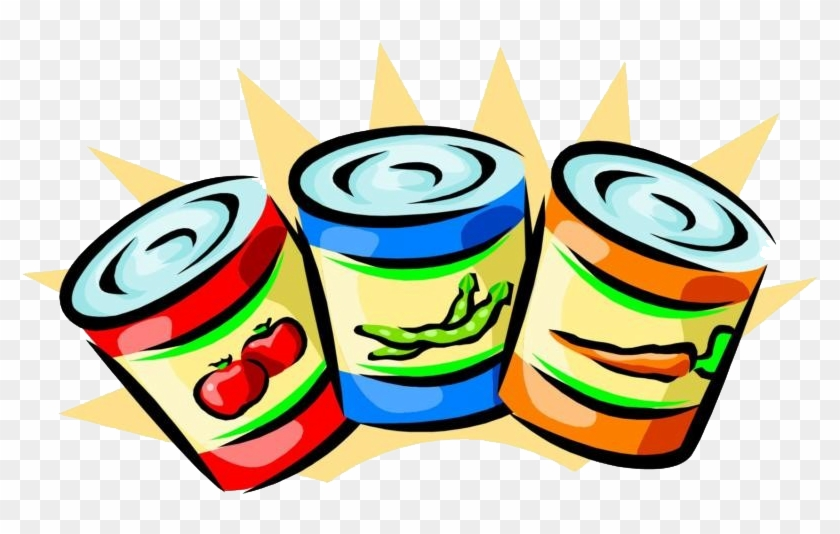 Fooddrive - Canned Food Clip Art #203804