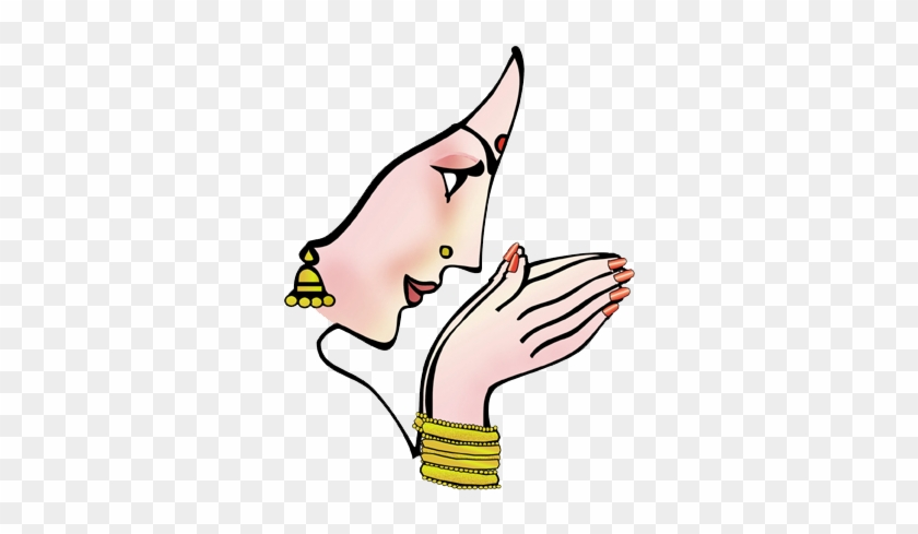 Namaste Hands Clipart Png - Welcome Clipart Png - Free ...