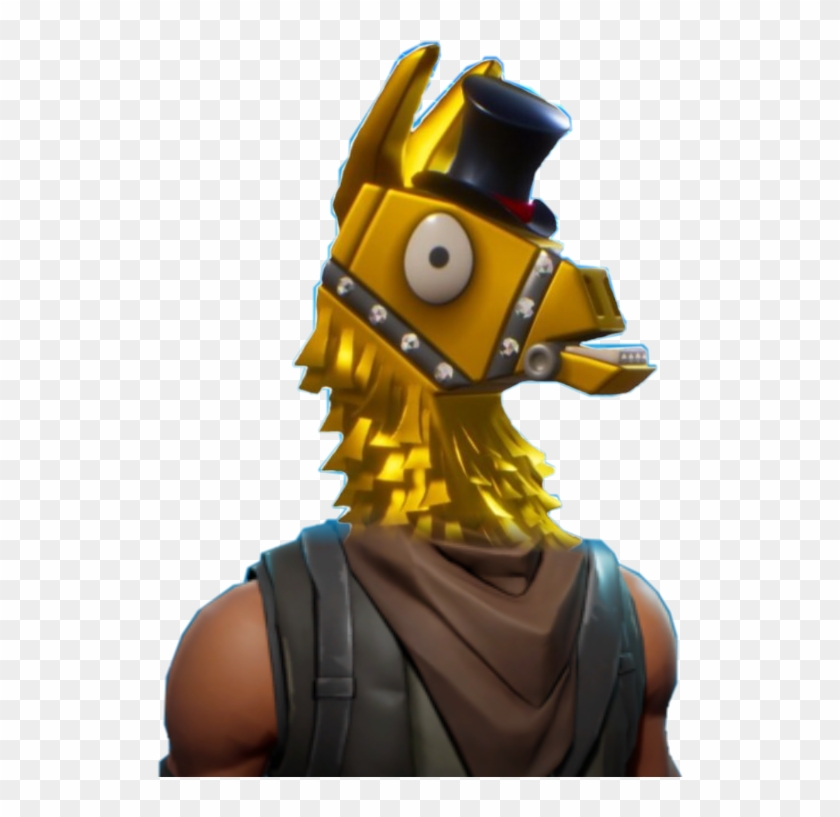 Fortnite Llama Tophat Profilepic Gold Fortnite Llama Transparent Background Free Transparent Png Clipart Images Download