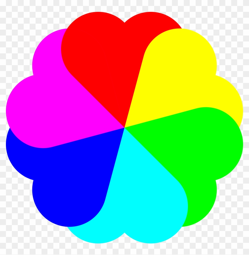 Big Image - Rainbow Love Heart Clipart #1269388