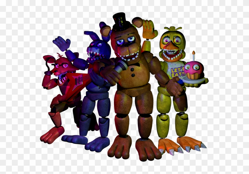 c4d] The Unwithereds Gang By Foxy Gamer 90ex - Cinema 4d
