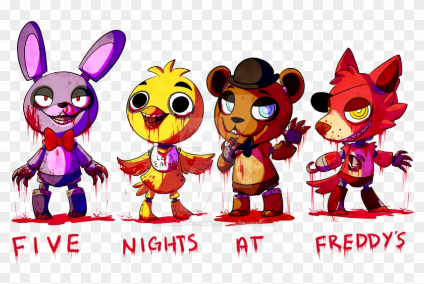 Five Clipart Mango Five Nights At Freddy S Characters Free Transparent Png Clipart Images Download