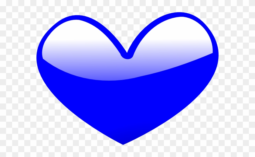 blue heart clip art at clker blue animated heart free rh clipartmax com animated valentine heart clipart Animated Beating Heart Clip Art