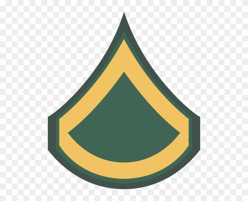 Private First Class Ww2 Us Army Rank - Private First Class