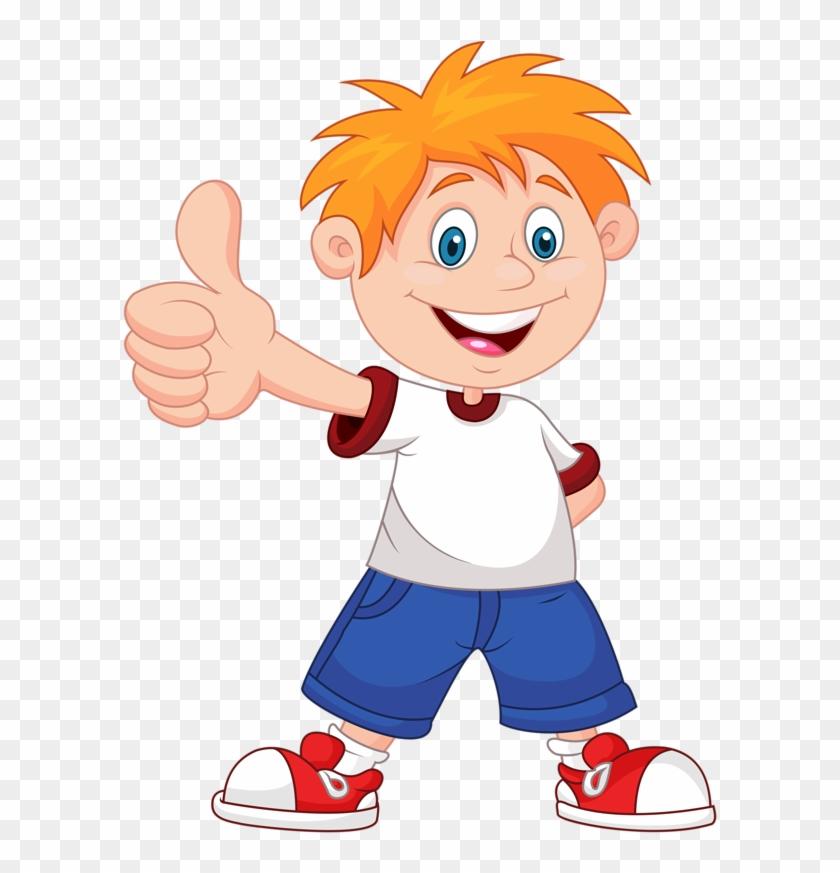 Фото, Автор Soloveika На Яндекс - Cartoon Boy With Thumbs Up #1271047
