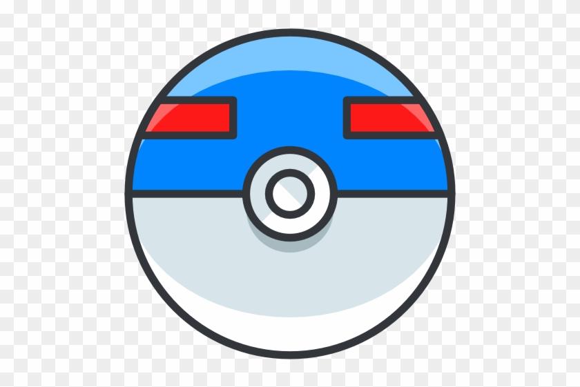 Great Ball Pokemon Go Game Icon Free Of Pok Mon