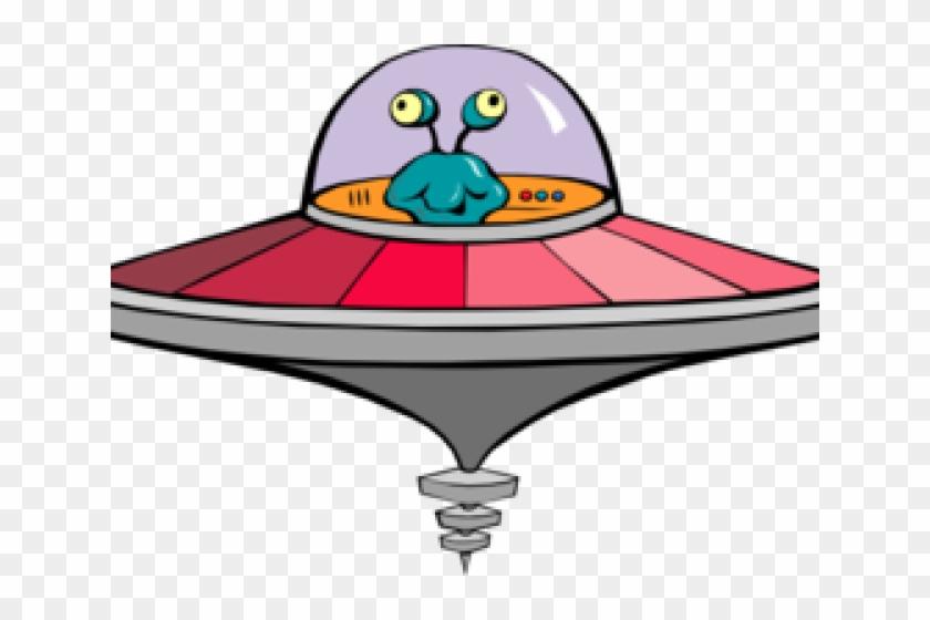 Alien Spaceship Cliparts - Alien In Flying Saucer #1271266