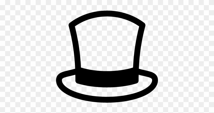 Top Hat Clipart Mlg - Free Top Hat Vector - Free Transparent PNG