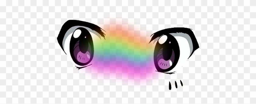 Anime Eyes Cute Tumblr Vaporwave - Anime Boy Eyes Transparent #1273899