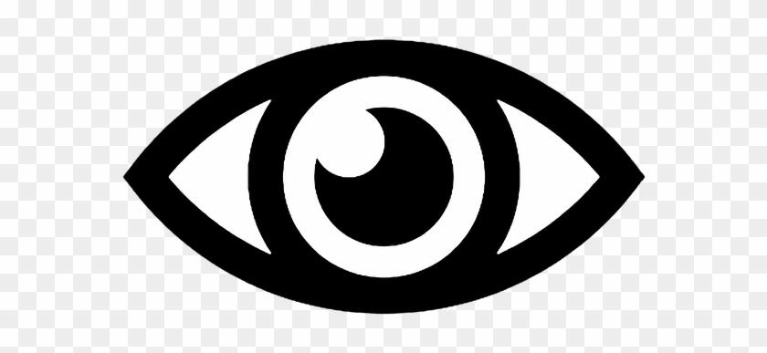 Eye Icon Vector Image - Auge Symbol #1274058