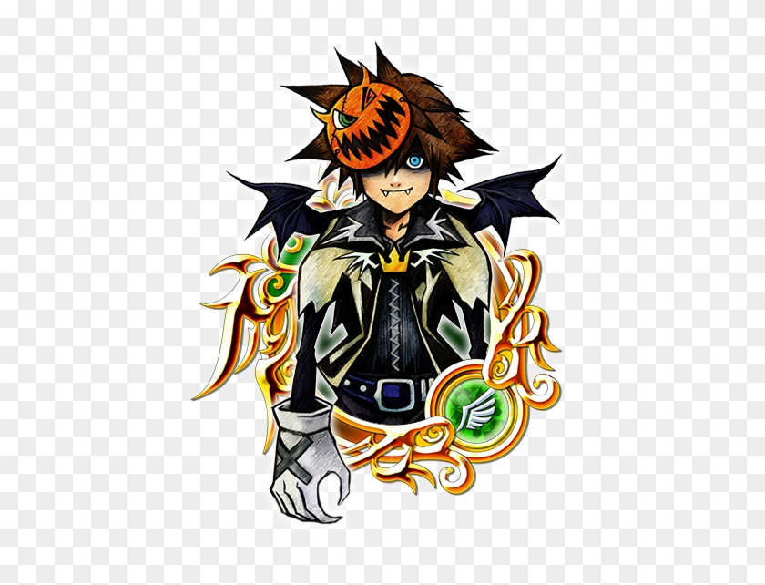 Halloweentown Sora Illustration S Kingdom Hearts Halloween Town