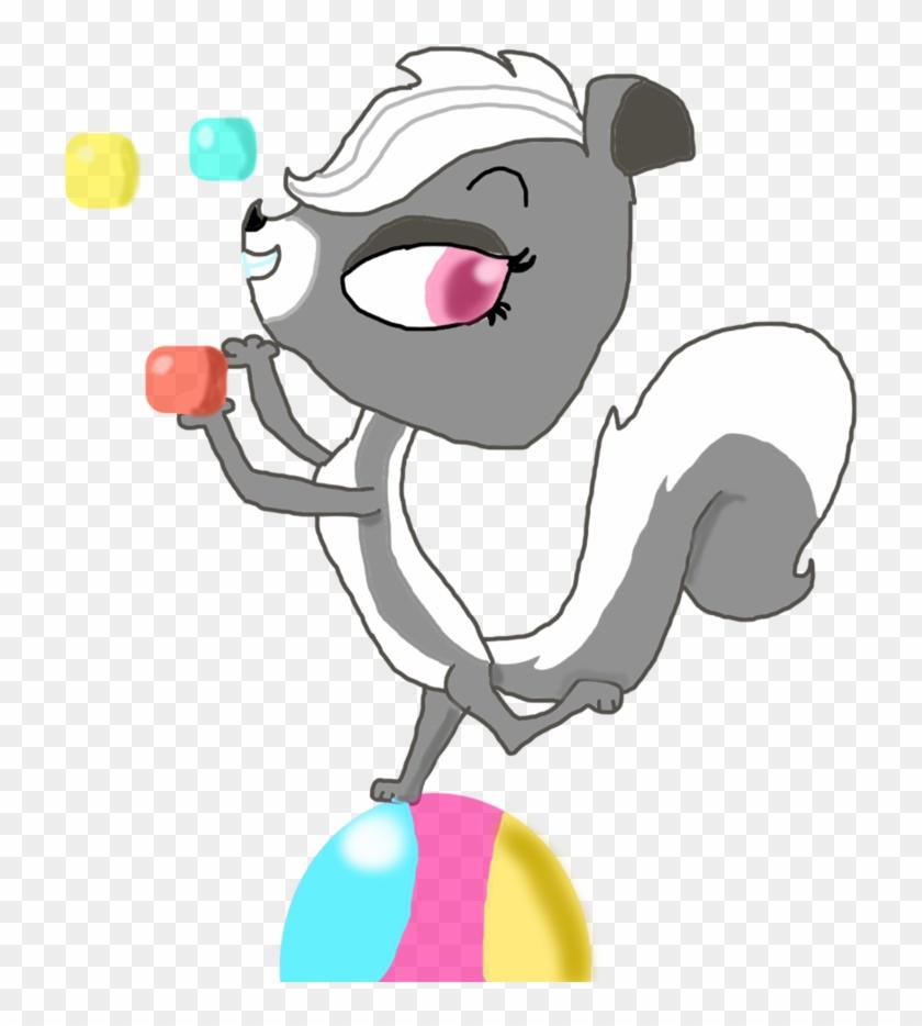 Pepper Clark Juggling Balls Vector By Littlestcanimals0706 - Juggling Ball #1274749
