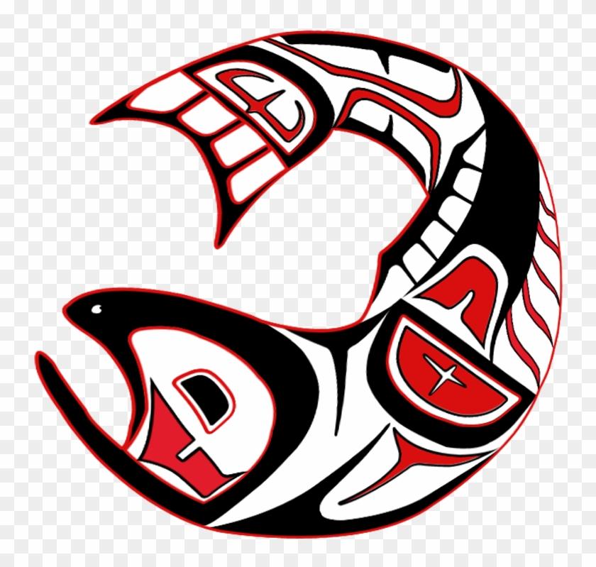 Artwork - Haida Art Salmon #1275422