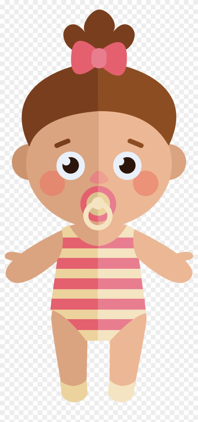 Cute Baby Vector 935*1949 Transprent Png Free Download - Cuteness #1275451