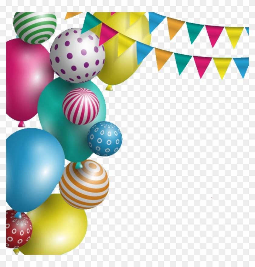 Wedding Invitation Birthday Cake Greeting Card Wish - Balloons And Circles Vector Png #1275628