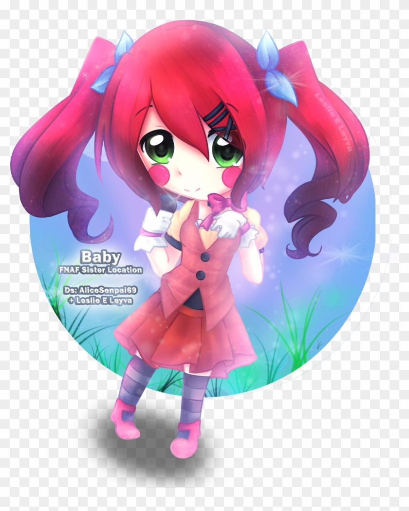 F Naf Sister Location Baby Anime Pictures To Pin On