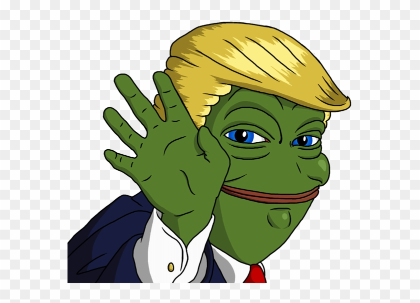 Smug Pepe Transparent Png Pepe The Frog Trump Free Transparent
