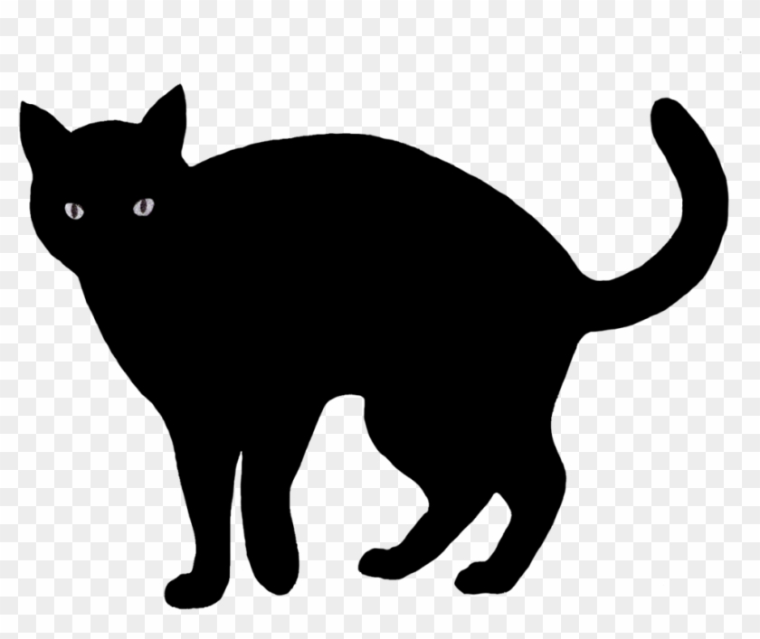 Cartoon Of A Black Scaredy Halloween Cat Royalty Free Black Cat Clipart Free Transparent Png Clipart Images Download