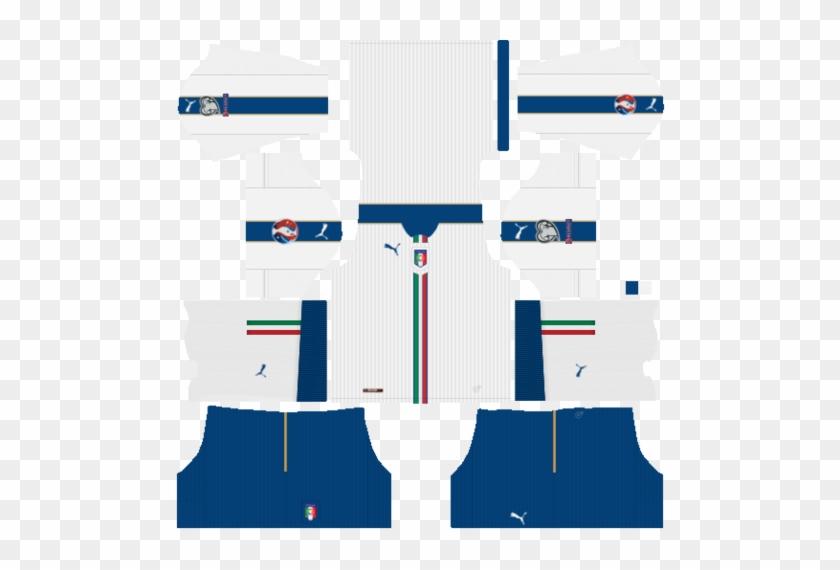 Dream League Soccer 2017 Logo Italy Vector And Clip - Dream League Soccer Italia Kit #1278560