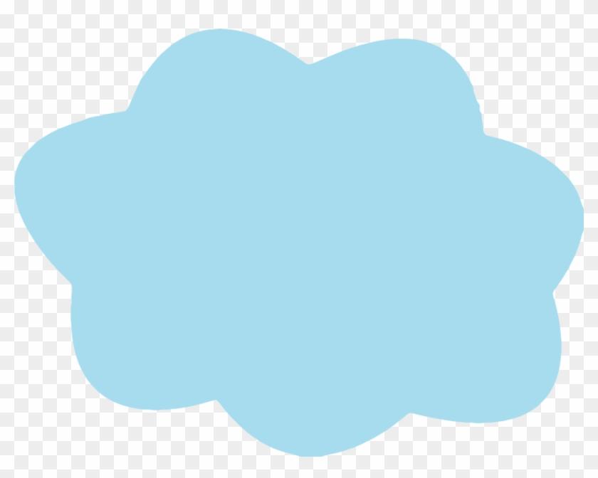 Cloudtransparent - - Light Blue Cloud Png #1280889
