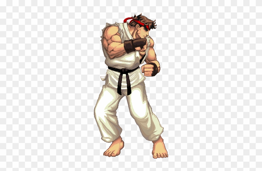 street fighter ryu gif