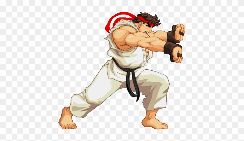 Ryu Hadoken - Street Fighter Ryu Png - Free Transparent PNG