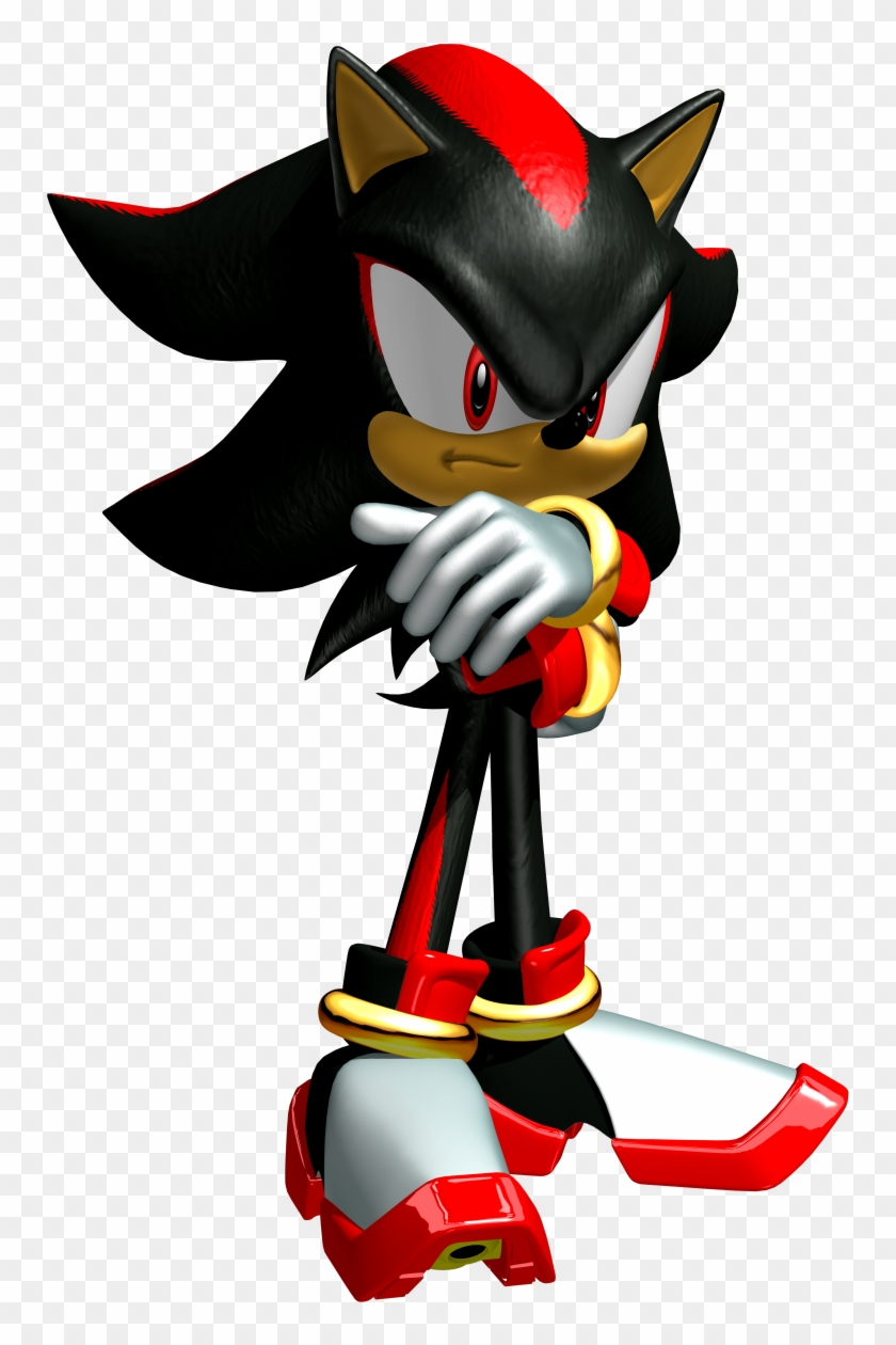 Shadow Heroes Shadow The Hedgehog Sonic Heroes Free Transparent Png Clipart Images Download