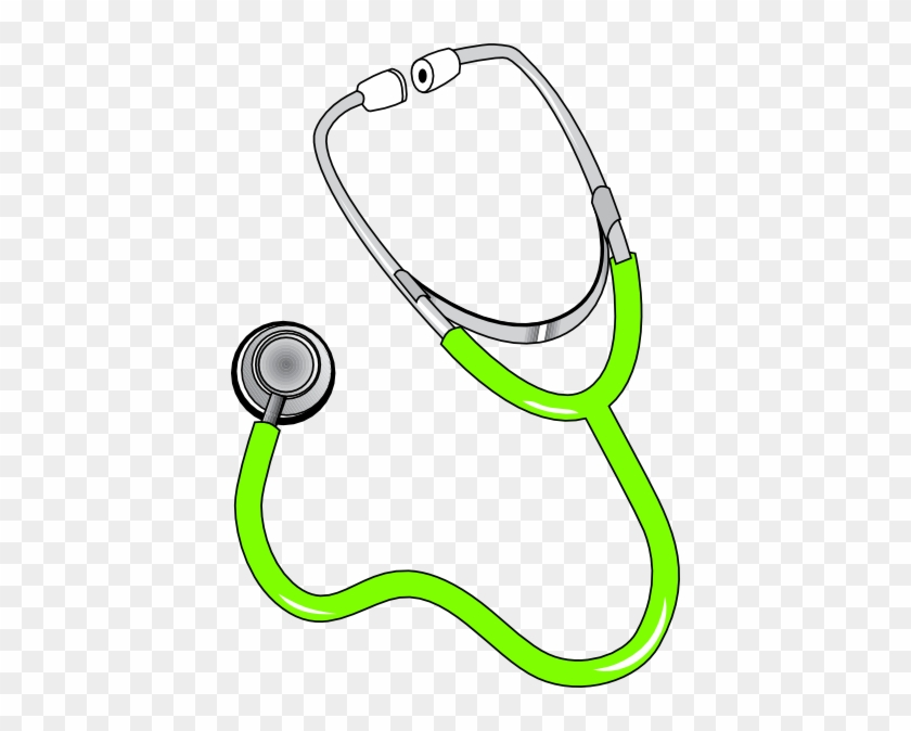 Red Stethoscope Clip Art At Clker - Doctor Symbol Clipart #1283314