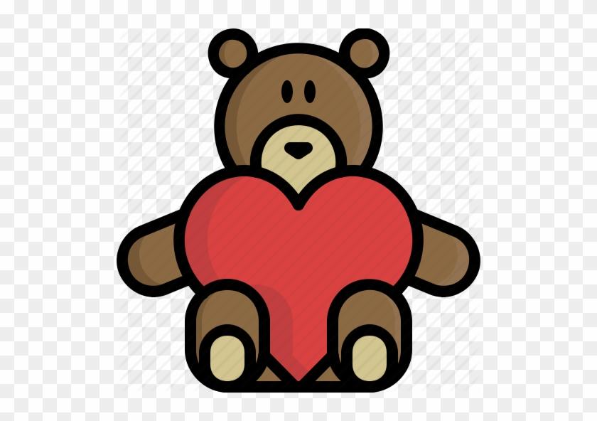 Valentine`s Day Clipart Bear - Valentine's Day #1284918