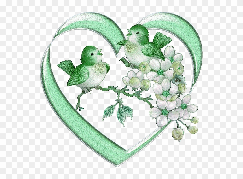 A Isolated Green Lovebird Stock Illustration - Good Evening Love Birds #1285339