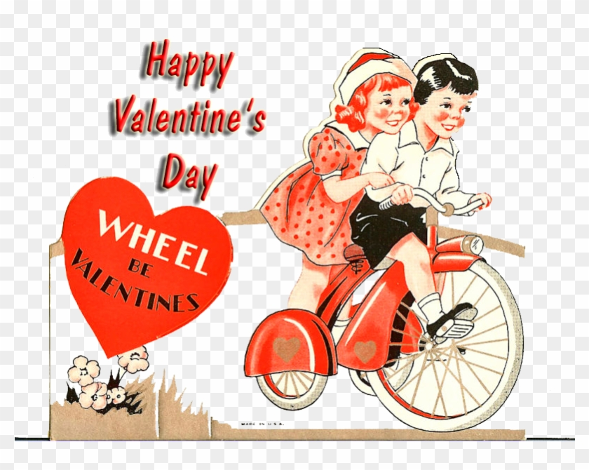 2017 Valentines - Vintage Bicycle Valentine #1285363