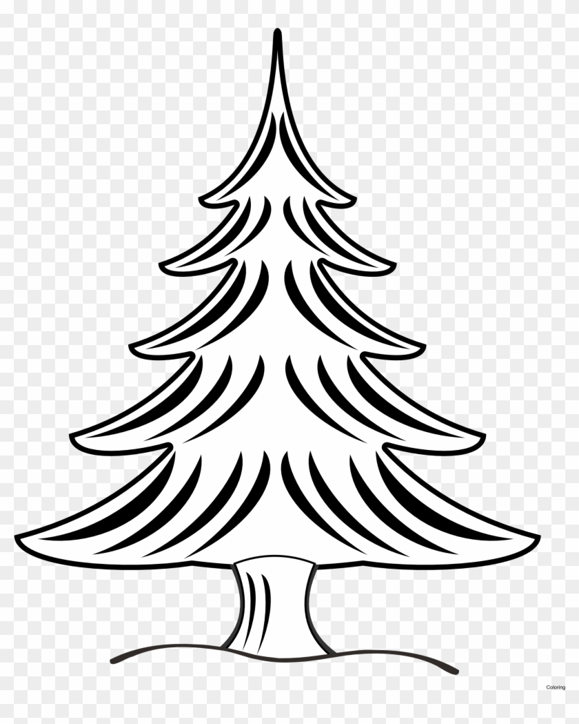 Pine Trees Blog - Pine Tree Clipart Black And White #1286183