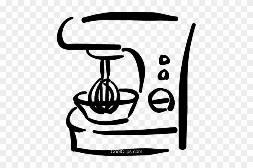 Food Processor Royalty Free Vector Clip Art Illustration - Illustration #1286441