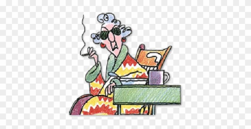 Maxine Retirement Cartoons For Women For Pinterest - Good