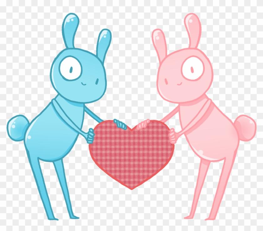 Easter Bunny Desktop Wallpaper Clip Art