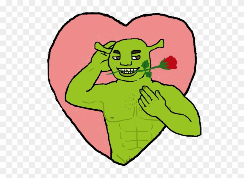 Come Ogre Here By Absolutley Delish Bad Shrek Fan Art Free Transparent Png Clipart Images Download
