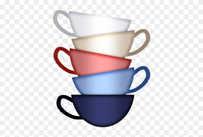 Stacked Tea Cups Png #1288741