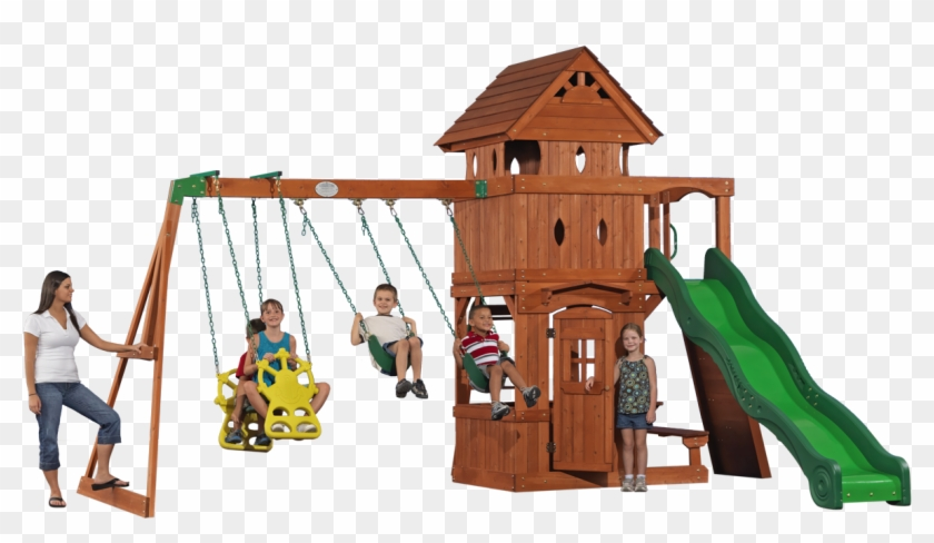 Monterey Cedar Swing Set Free Transparent Png Clipart Images Download