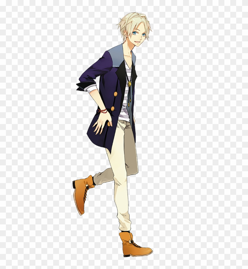 Anime Guy Anime Guy Walking Side View Free Transparent Png