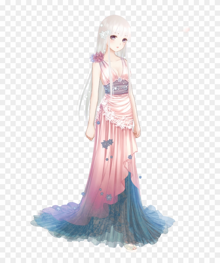 Mehr - Anime Girl In Dress Disigns - Free Transparent PNG Clipart