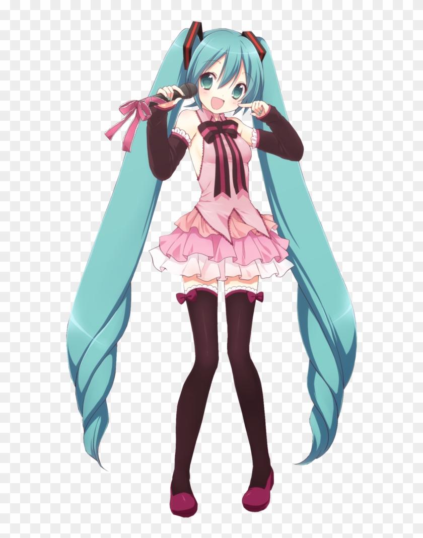 cute miku hatsune miku chibi cute free transparent png
