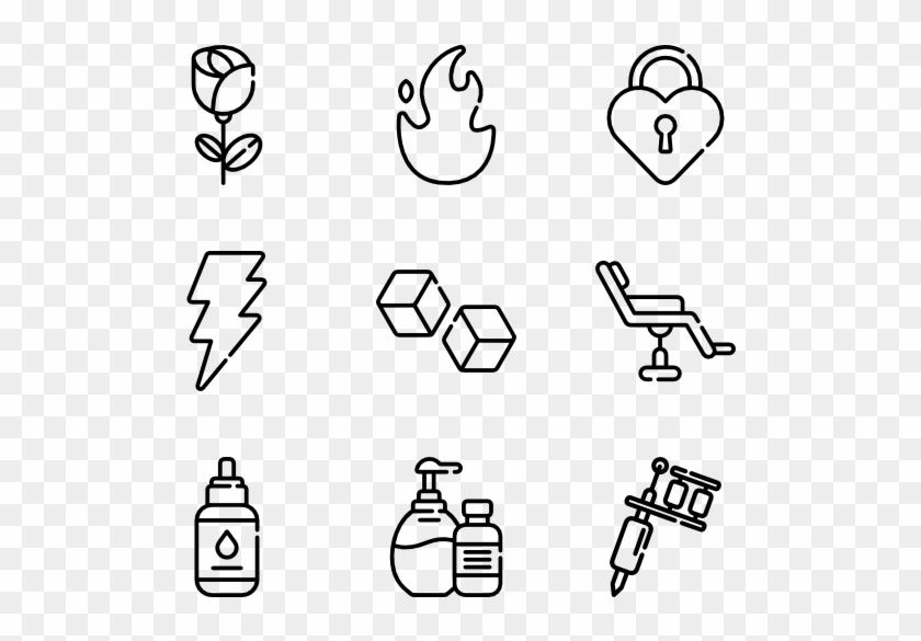 Tattoo Easy Icon To Draw Free Transparent Png Clipart Images