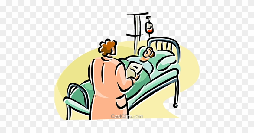 Hospital Clipart Hospital Bed   Person In Hospital Clipart