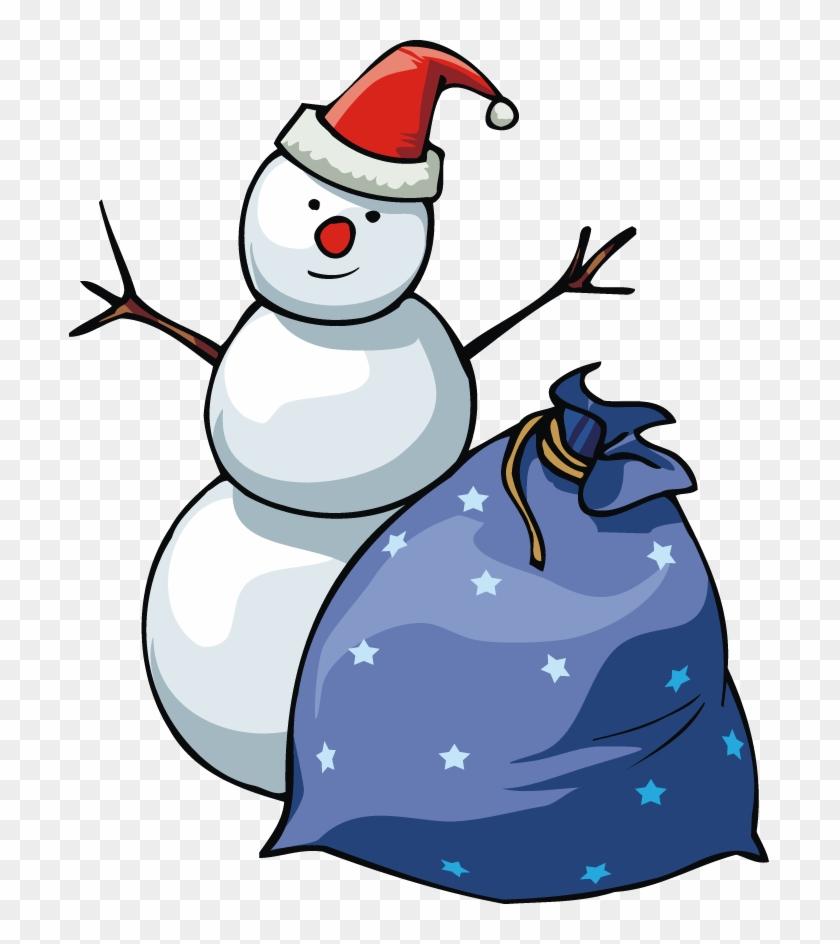 Use A Pillowcase, Gift Back Or Sack For Santa's Bag - Christmas Presents Clipart #1292259