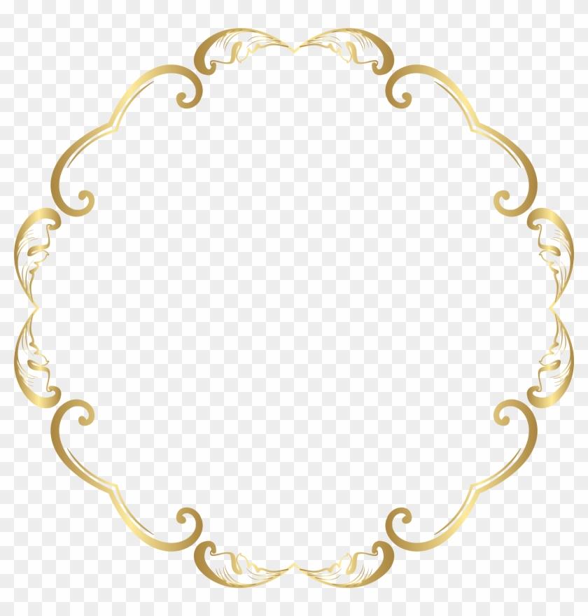 64312fd75715 Decorative Round Border Frame Transparent Image - Decorative Round Border Frame  Transparent Image  1292445