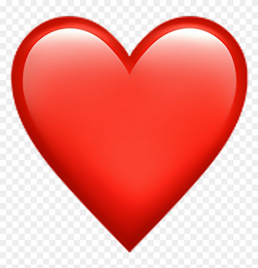 Heart Love Red Whatsapp Emoji Emotion Emotions - Big Heart Emoji #1293080