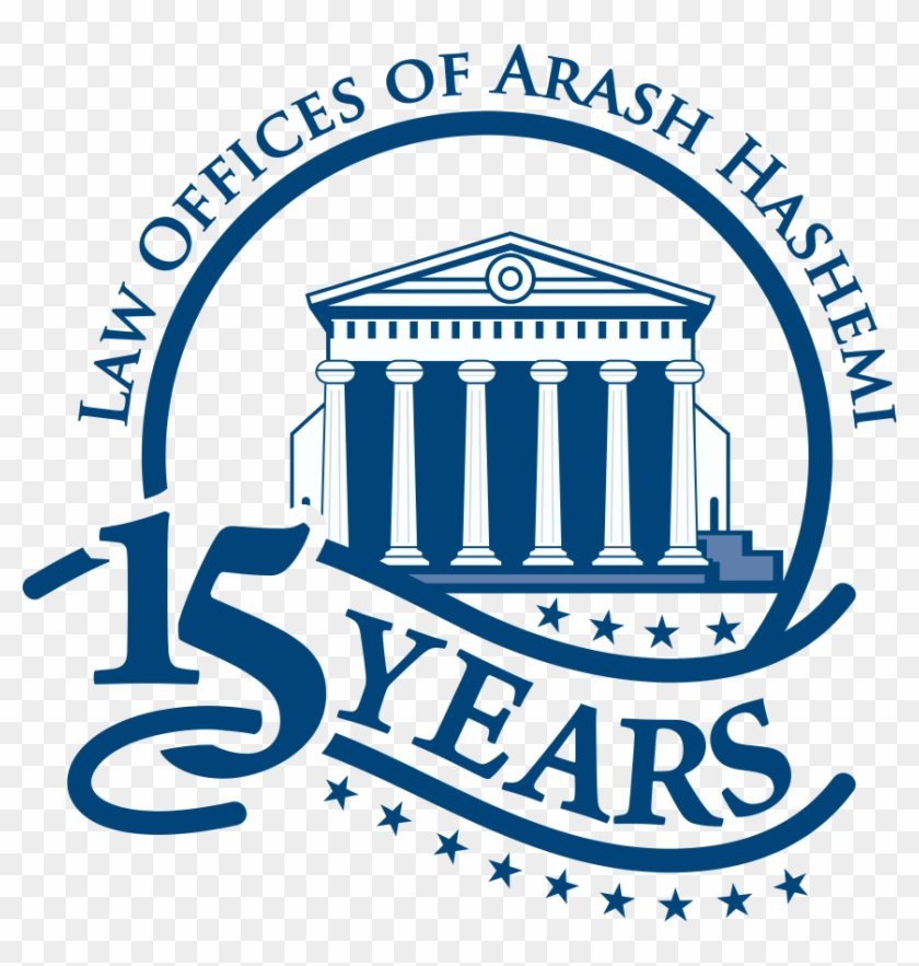 15 Year Anniversary Logo Law Offices Of Arash Hashemi Free