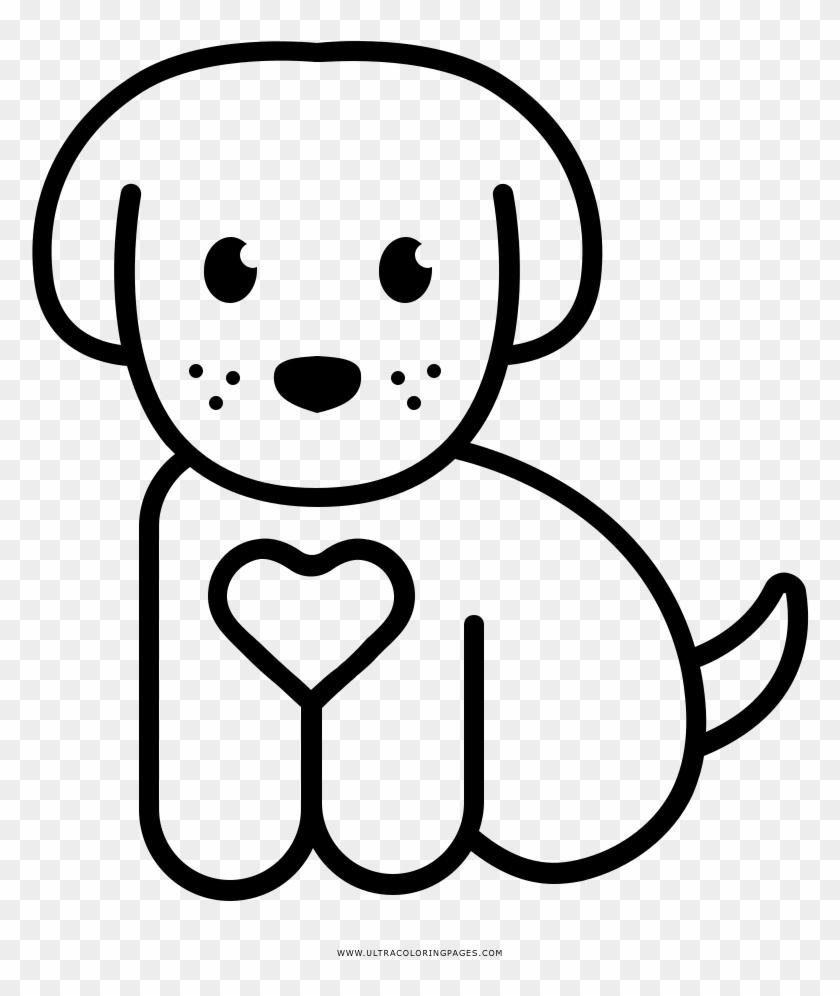 Dibujo De Perrito Para Colorear Dibujo De Perrito Para Colorear